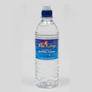 Fox Ledge spring water 16.9 oz sport cap