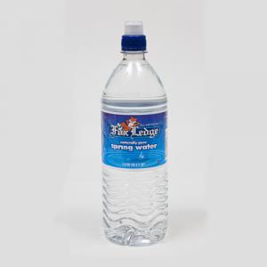 Fox Ledge spring water 1 liter sport cap