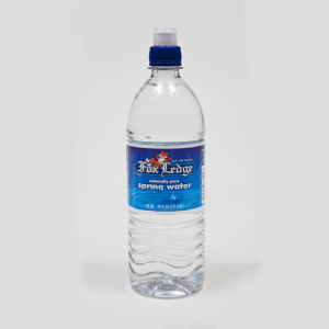Fox Ledge spring water 24 oz sport cap