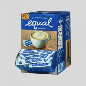 Coffee service Equal® Sweetener
