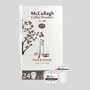 Fox Ledge Coffee Service McCullagh® dark & stormy K-cups