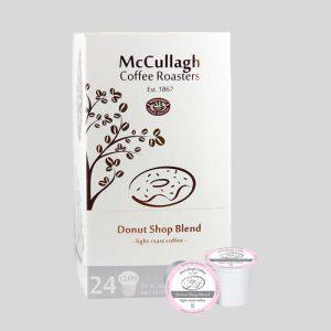 Fox Ledge Coffee Service McCullagh® Donut Shop Blend K-cups